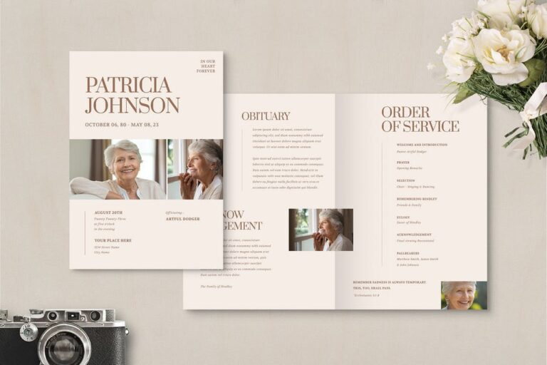 18+ Funeral Order of Service Templates | Sample & Examples